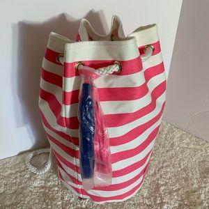 Victoria's Secret beach drawstrings bag